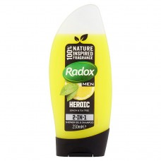 Radox Feel Heroic 2-in-1 Shower Gel & Shampoo 250ml