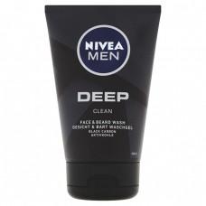 NIVEA MEN Deep Żel do mycia twarzy i zarostu 100 ml