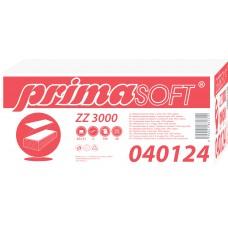 Skládaný ručník Z-Z PrimaSoft 3000 bílý 2-vrstvý, 100% celulóza