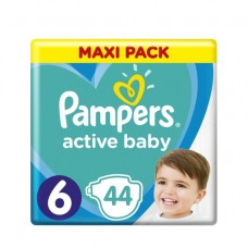 Pampers Active Baby Maxi Pack velikost 6