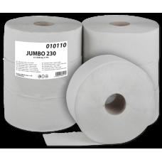 Toaletní papír Jumbo 230 1-vrstvý šedý