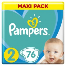 Pampers New Baby-Dry pleny 2 Mini, velikost 4-8 kg