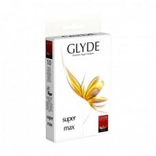 Glyde Veganské kondomy Supermax 10 ks