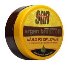 Zvláčňující máslo Argan bronz oil po opalování 200 ml