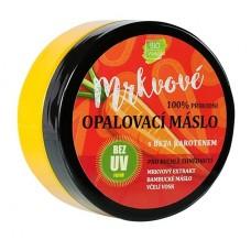 Přírodní opalovací mrkvové máslo bez UV filtrů 150 ml