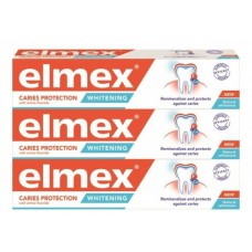 Elmex Zubní pasta Caries Protection Whitening Tripack