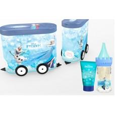 EP Line Disney Frozen - EDT + sprchový gel + plechový vagónek