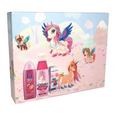 Fa Kids Girls dárková sada sprchový gel + šampon + zubní pasta