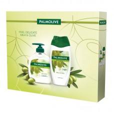 Vánoční balíček Palmolive Feel Delicate Milk & Olive