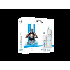 STR8 Protect Extreme dárková sada deodorant + sprchový gel