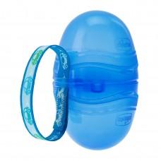 Chicco Pouzdro na šidítko dvojité - modré