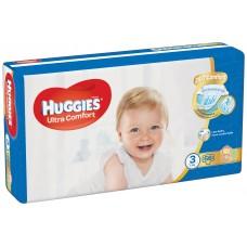 Huggies Ultra Comfort Pieluszki 3 5-8 kg 56 sztuk