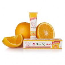 Twin Lotus Dětská bylinná zubní pasta s pomerančovou příchutí