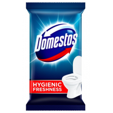 Domestos ubrousky na WC s antibakteriální přísadou