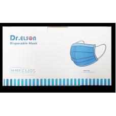 Dr. Elson rouška KOMFORT jednorázová 3vrstvá, Certifikát CE