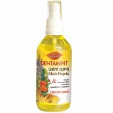 Bione Cosmetics Dentamint ústní sprej Med + propolis