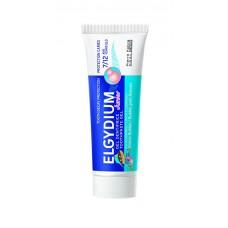 ELGYDIUM Gelová zubní pasta s fluorinolem a příchutí žvýkačky pro děti 7-12 let Junior