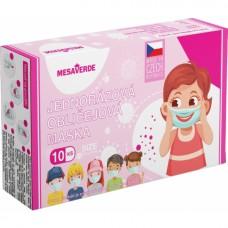 Mesaverde Kids Girl 3vrstvá ochranná dětská rouška, výroba CZ