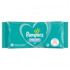 Pampers Fresh Clean Chusteczki nawilżane dla niemowląt 1 opakowanie = 52 chusteczek nawilżanych