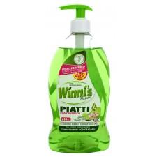 Winni's hypoalergenní mycí prostředek na nádobí s praktickou pumpičkou