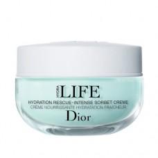 Dior Hydratační krém pro intenzivní péči Hydra Life (Hydration Rescue Intense Sorbet Creme)