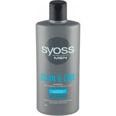 Syoss Men Clean & Cool Szampon 440 ml