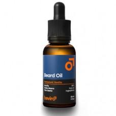 beviro Pečující olej na vousy s vůní vanilky, palo santo a tonkových bobů (Beard Oil)