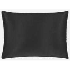 NOX 100% hedvábný povlak na polštář Půlnoční černá