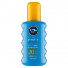 Nivea Sun Protect & Bronze Sun Spray SPF 20 200ml