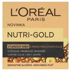 L'Oréal Paris Nutri-Gold Exceptional Cream with Micro-Beads Oil 50ml