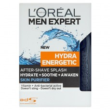 L'Oréal Paris Men Expert Hydra Energetic Skin Purifier After-Shave Splash 100ml