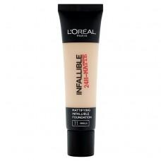 L'Oréal Paris Infallible 24H-Matte11 Vanilla Make Up 35ml