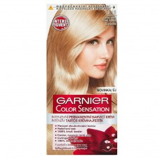 Garnier Color Sensation Intense Permanent Coloring Cream Light Blonde Rainbow 9.13