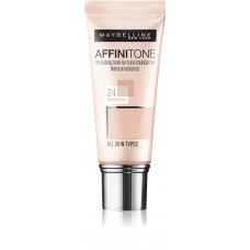 Maybelline New York Affinitone 24 Golden Beige Hydrating Foundation 30ml