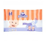 Panda Wet Wipes 64 pcs