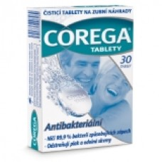 Corega Cleaning Tablets for Dental Replacement 6 pcs