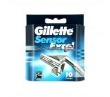 Gillette Sensor Excel 10ks náhradní hlavice