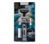 Gillette Mach3 Maszynka do golenia dla mężczyzn + 1 Ostrze Wymienne