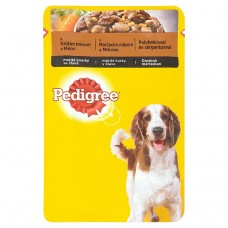 Pedigree Vital Protection Complete Feed for Adult Dogs with Turkey and Carrots in Juice 100g