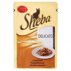 Sheba z indykiem Karma pełnoporcjowa 85 g