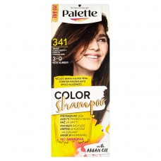 Schwarzkopf Palette Color Shampoo Hair Color Dark Chocolate 341