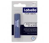Labello For Men Active Caring Lip Balm 4.8g