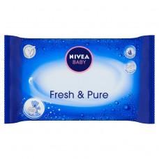 NIVEA Baby Fresh & Pure Chusteczki 63 sztuki