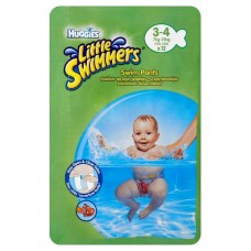 Huggies Little Swimmers Stretching Swim Pants 3-4 12 pcs
