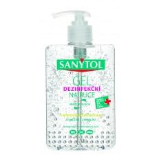 Sanytol Żel dezynfekujący do rąk zielona herbata 250 ml