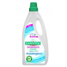 Sanytol Płyn czyszczący i dezynfekujący uniwersalny antyalergiczny podłogi i inne powierzchnie 1 l