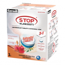 Ceresit Stop Vlhkosti Humidier Replacement Tablets Peach 2 x 300g