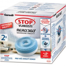 Ceresit Stop Vlhkosti Aero 360° Humidier Replacement Tablets 2 x 450g