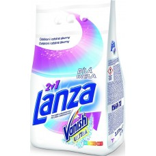 Lanza Vanish Ultra 2v1 White Powder Detergent with Stain Remover 15 Wash 1.125kg