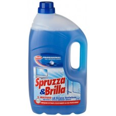 Spruzza & Brilla, na mytí tvrdých omyvatelných povrchů